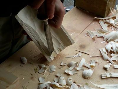DIY Woodcrafting. Cuillère, canoë, logbox !