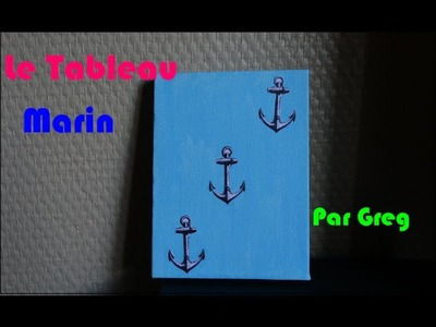 Tuto Paint.Craft : Le Tableau Marin