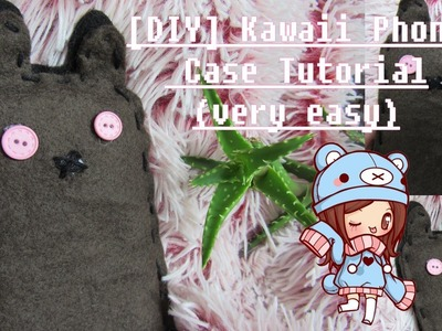 [DIY] Kawaii Phone Case Tutorial (Very Easy)