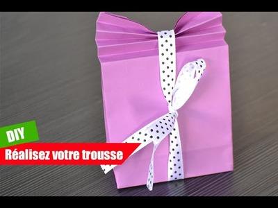 DIY Création boites à cadeaux en papier
