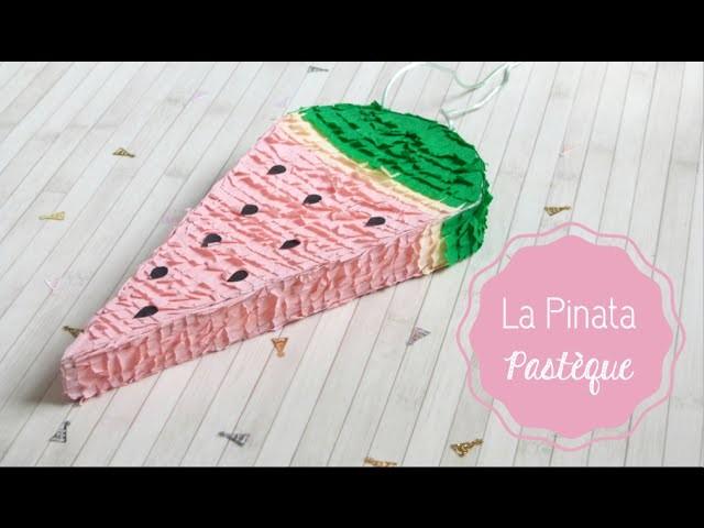 DIY Déco ♡ La Piñata Pastèque