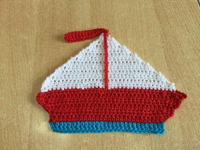 Tuto bateau au crochet application