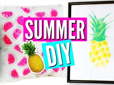 DIY Summer Room Decor. Deco Chambre été (français)