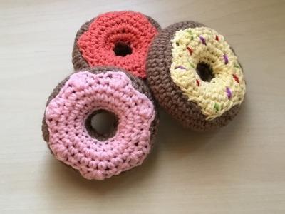 Donuts crochet amigurumi facile. Donas tejidas a crochet facil