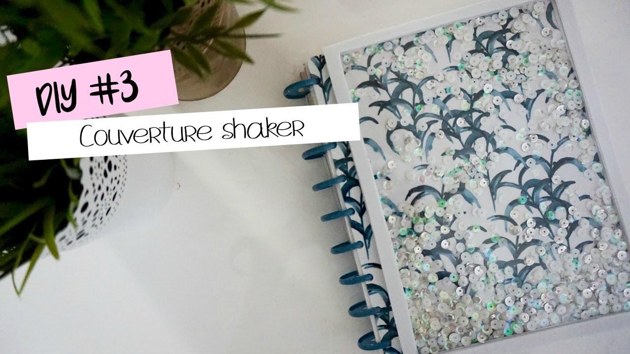 DIY #3 - Couverture de planner shaker