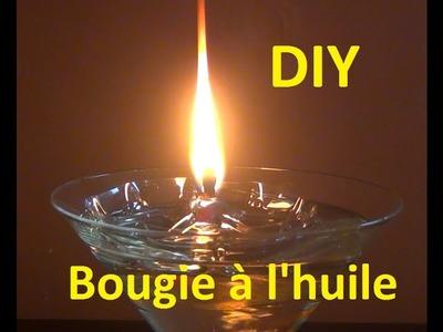 DIY - Bricolage à faire à la maison #22 (le bougie à l'huile)