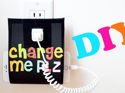 DIY Porte-chargeur Iphone - Smartphone Iphone Charging Holder