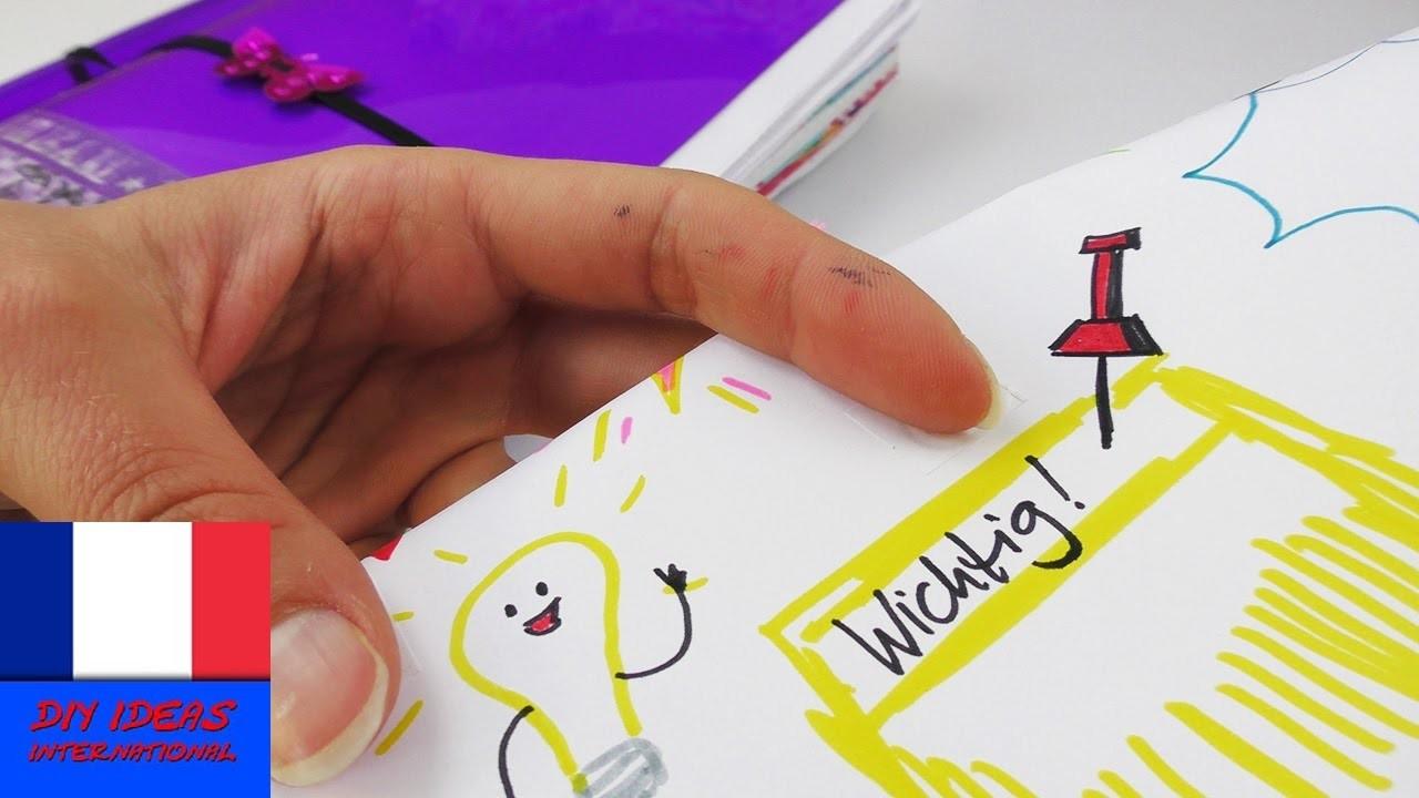 Idée DIY Filofax | Comment marquer ses rendez-vous? 7 petites idées de dessins pour Filofax | Facile