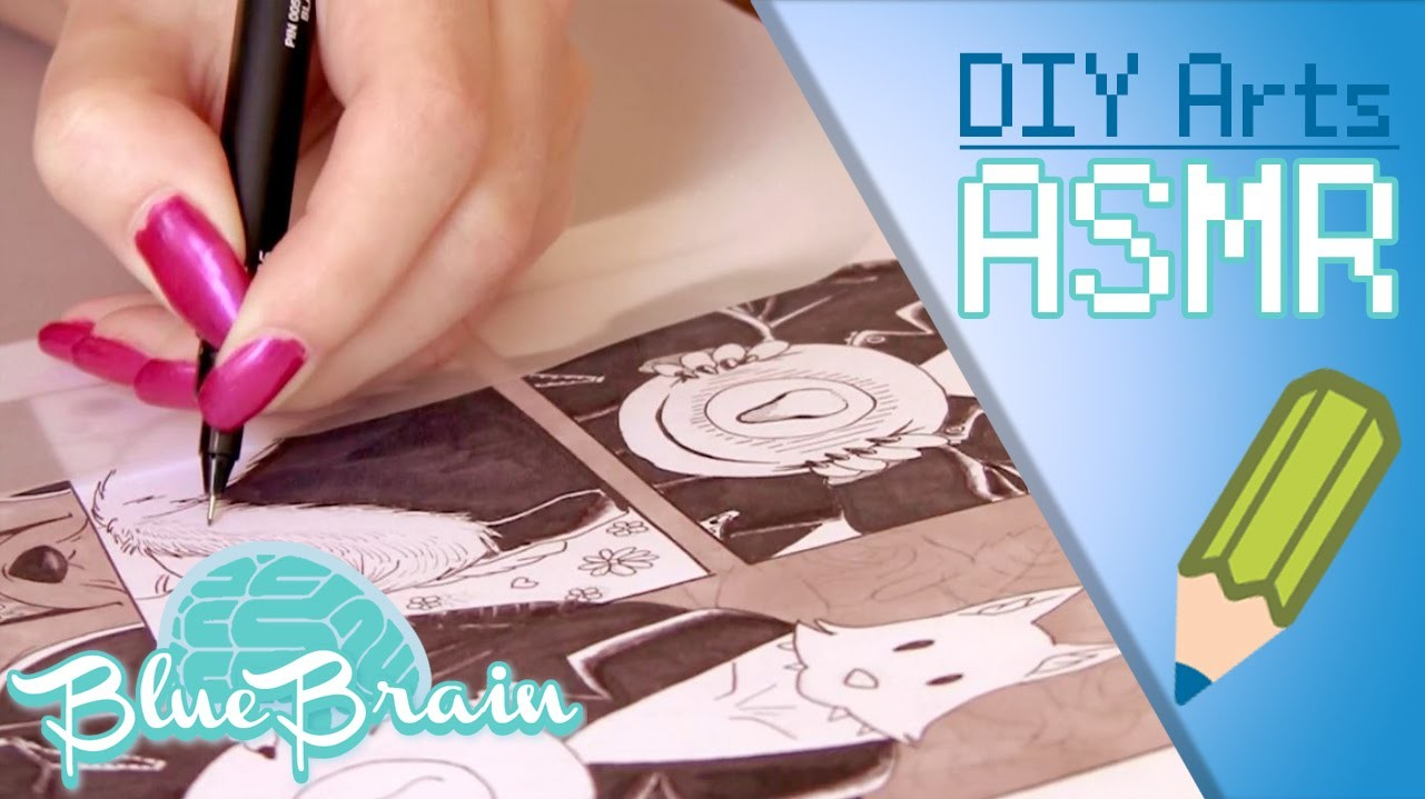 [ASMR] How to draw a Manga.Comic page| Dessiner  une page de BD #2[No talking]