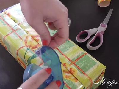 ASMR - Préparons des cadeaux. Paper sounds, whispering .