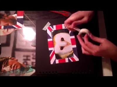 DIY decoration d'un album photos -laly beagle-