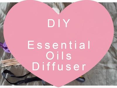DIY :: Diffuseur Huiles Essentielles. Essential Oils Diffuser