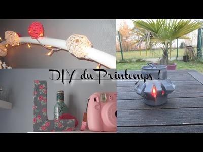 DIY N°4 | 4 DIY décoration simples et pas chers !