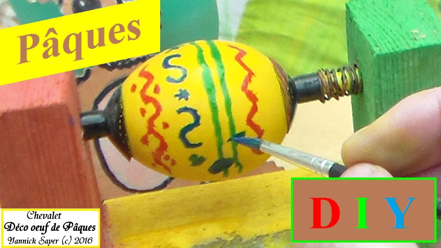 DIY Pâques : Idée malin de déco d'œufs de Pâques