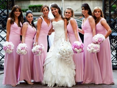 ♡[How To make]♡ un bouquet de mariage. bridesmaids' bouquets