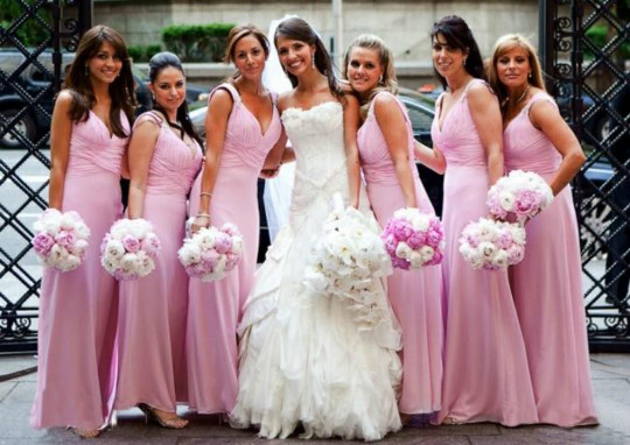 ♡[How To make]♡ un bouquet de mariage. bridesmaids' bouquets