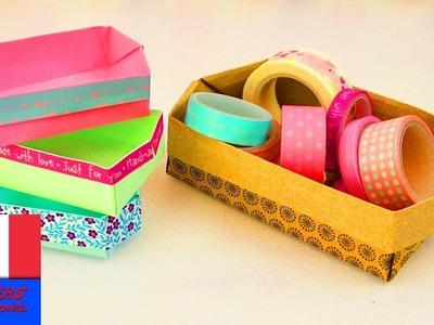 DIY Petite boîte en Origami | super simple avec du Washitape | Déco & Rangement | Boîte cadeau