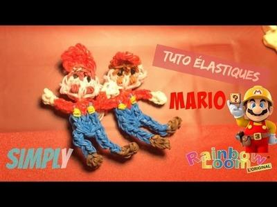 {Tuto élastiques} Mario en élastiques Rainbow Loom | Simply