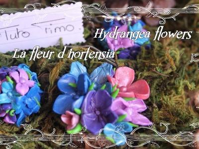 [♥✿ Tuto Fimo Fleurs : L'hortensia ✿♥] ~ [♥✿ Polymer Clay Tutorial Flowers : Hydrangea ✿♥]