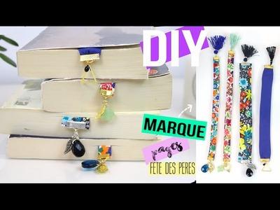 DIY┋CADEAU FETE DES PERES PETIT BUDGET : MARQUE PAGES - Bookmarks, DIY Francais