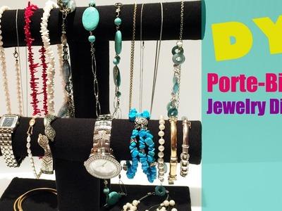 DIY Comment fabriquer un Présentoir à Bijoux - Jewelry Storage Display