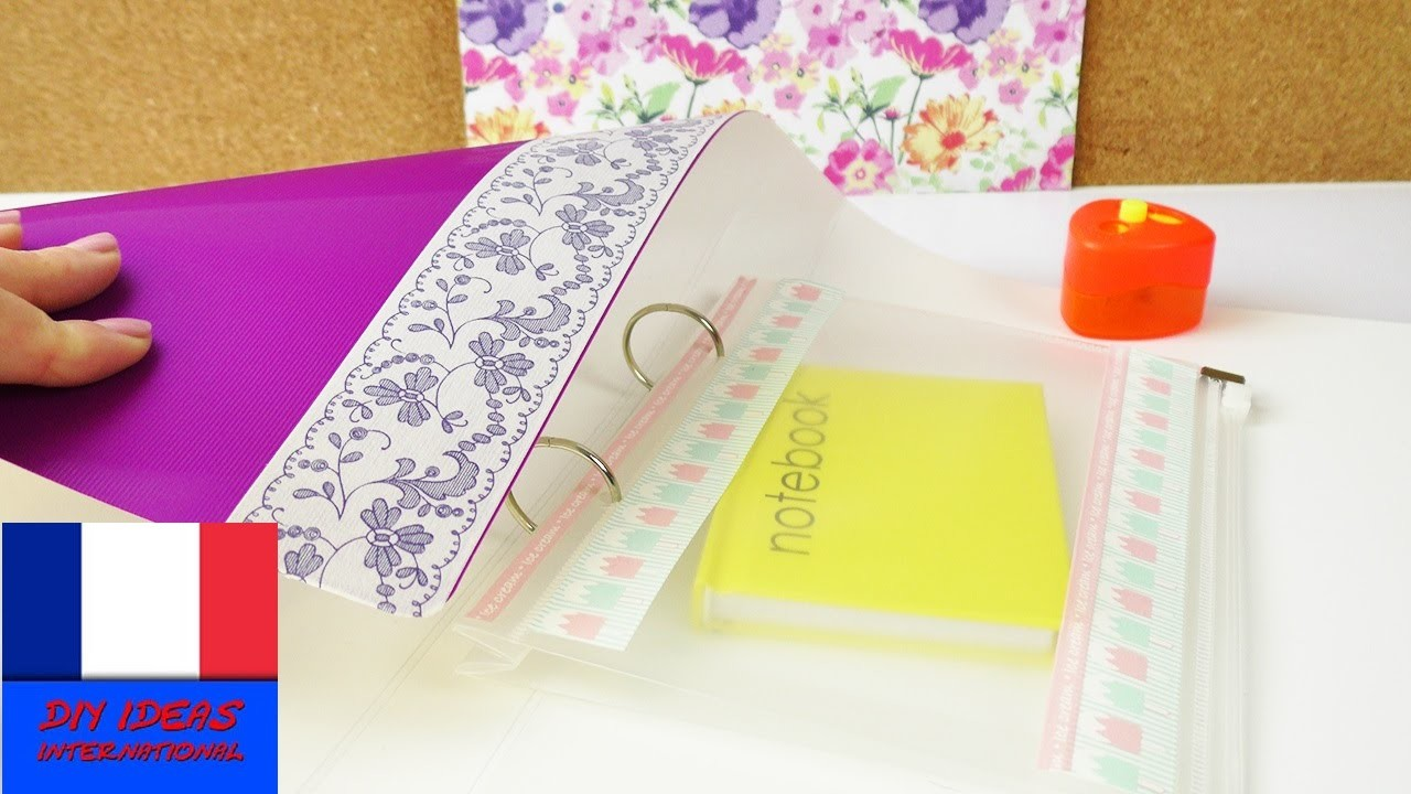 DIY Inspiration Challenge #59 Achats Back to School | Challenge 1 | Tutoriel - Do it yourself