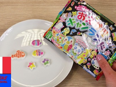 Popin' Cookin' Test DIY Sucreries | Fish Candy à peindre | KracieAnimaux | Surprise