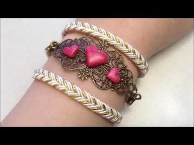 [TUTO #29] D I Y - Bracelet coeur
