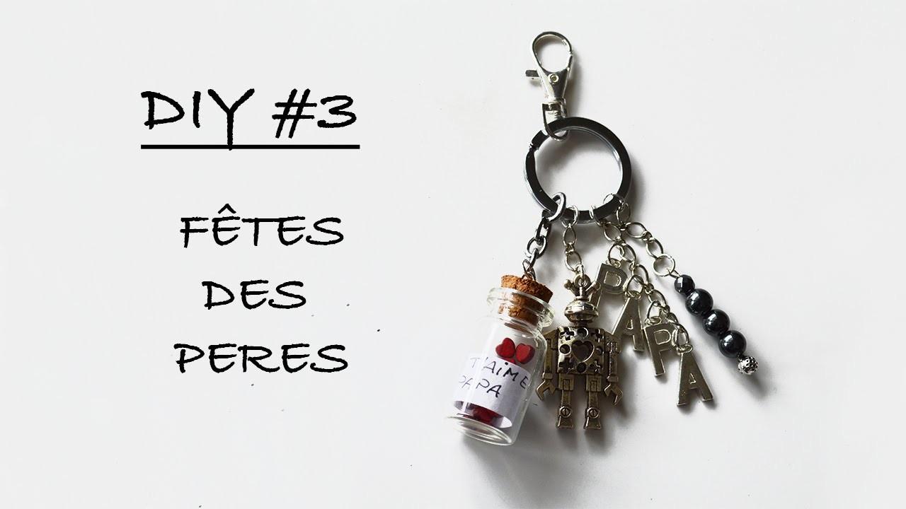 [Tuto DIY #3] Porte clef fête des pères - Partenariat Pimpomperles