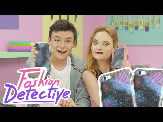 "DIY COQUES IPHONE ""GALAXY"" [FASHION DETECTIVE #17]"