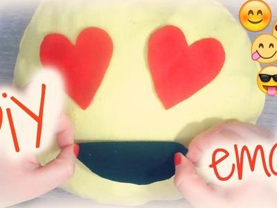 DiY ♡ Coussin emoji  *.Déco room