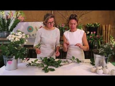 Vidéo – DIY : Créer une guirlande de table pour un mariage
