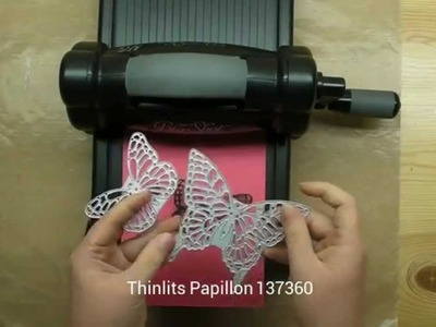 Trucs pour couper le Thinlits Papillons de Stampin'Up!