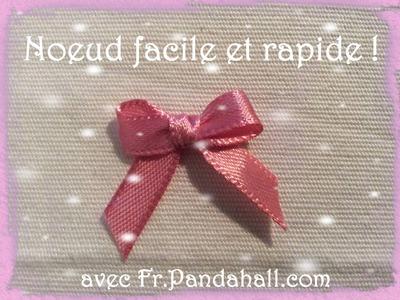 Tuto #14 Noeud Facile et rapide avec une fourchette - Fr.Pandahall.com