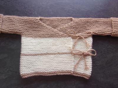 Brassiére 0.3 mois au tricot