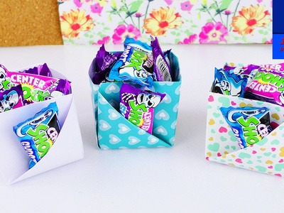 Boîte en dé avec une poche extérieure   Super boîte de rangement facile à faire   Idée DIY