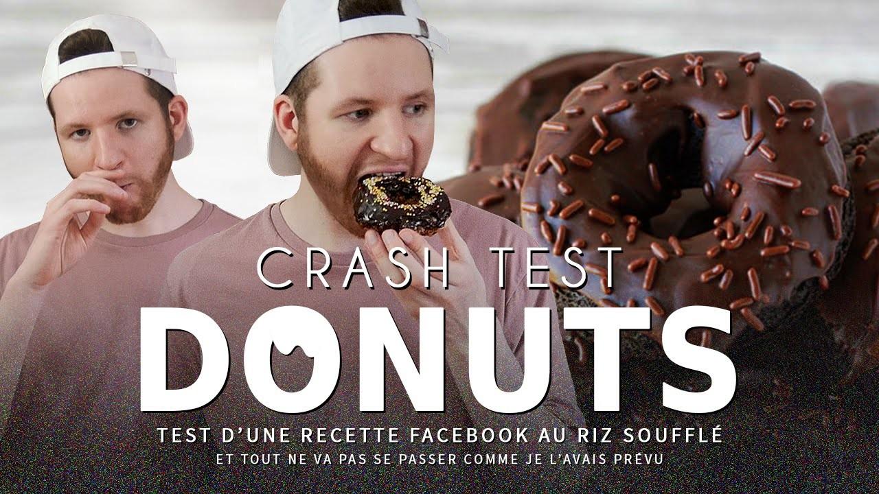 CRASH TEST : recette facebook des donuts croustillants