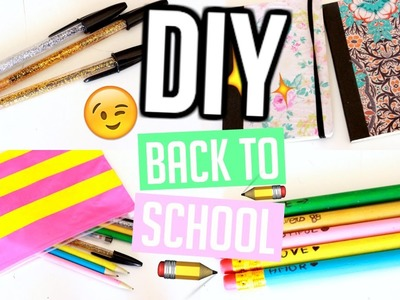 DIY Back To School 2016 I Customisez vos fournitures Scolaires I Eng Sub