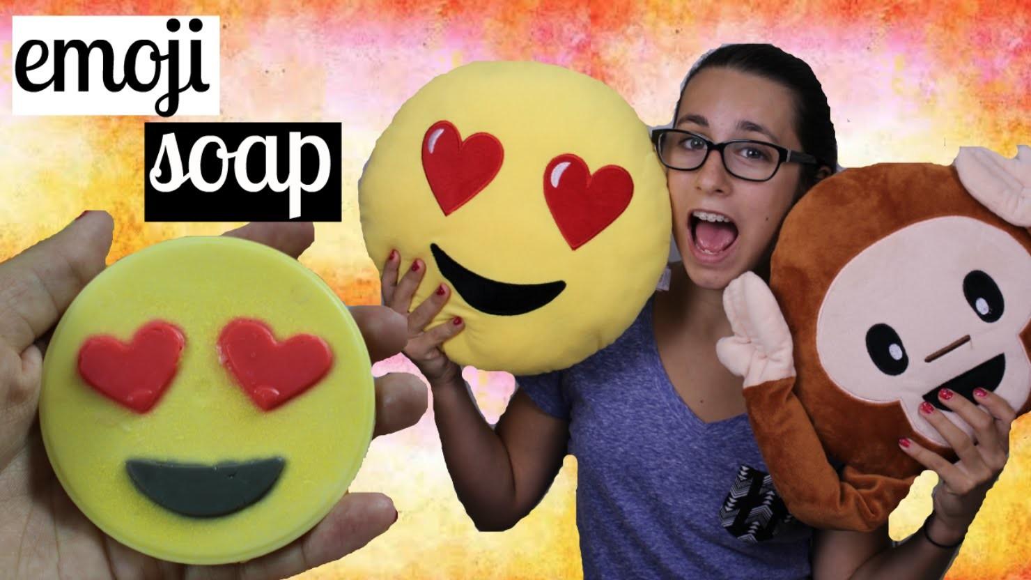DIY  emoji soap |Français|