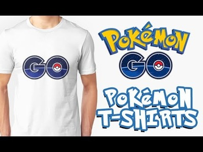 DIY : POKEMON GO | How to make t shirts Pokemon Go | Comment faire T shirt Pokemen Go