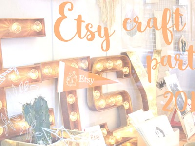 Etsy Craft Party 2016 ! [Team Petit Paris]