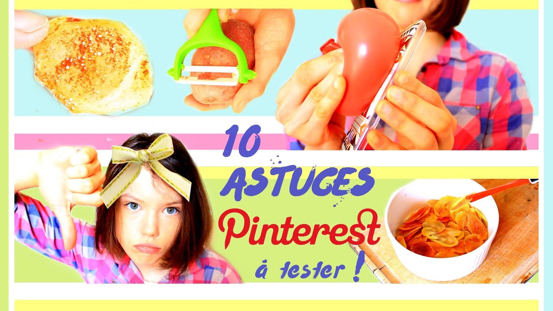 je teste des astuces pinterest ♡ claire