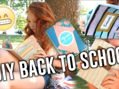 • DIY BACK TO SCHOOL. School Supplies & Notebooks. DIY FOURNITURES SCOLAIRES •