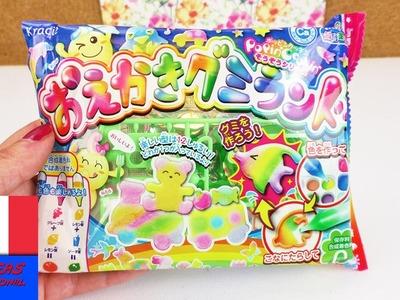 Kracie Popin' Cookin' Bonbons rigolos en forme d'animaux | DIY Candy Set | Lion & Eléphant
