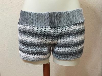 Tuto Short au crochet spécial gaucher