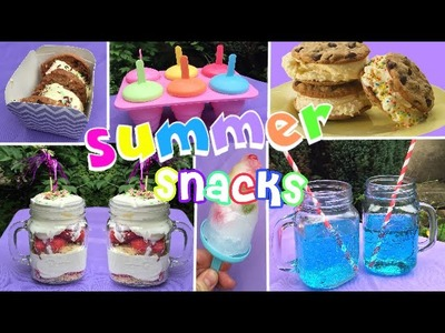 DIY | Snacks pour l'été. Summer treats