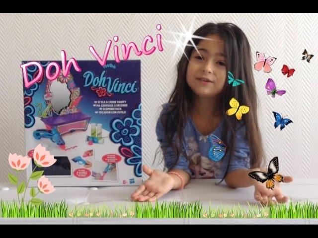 TUTO DOH VINCI by PLAY DOH - Coiffeuse à décorer - DIY - loisirs creatifs. Un Monde Princesses