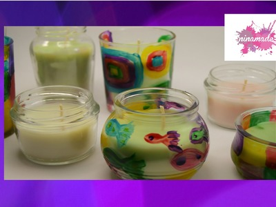 DIY. Comment recycler des bougies. How to Recycle Candles.