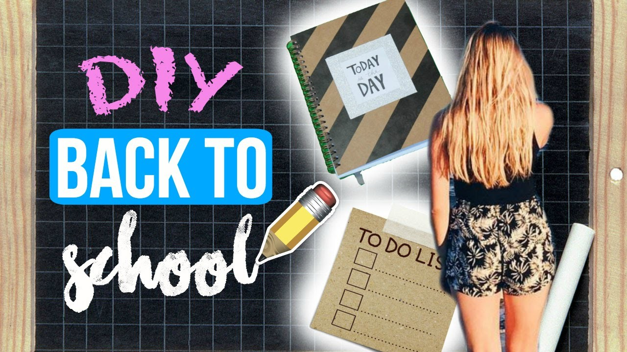 DIY BACK TO SCHOOL : Customiser facilement ses fournitures !
