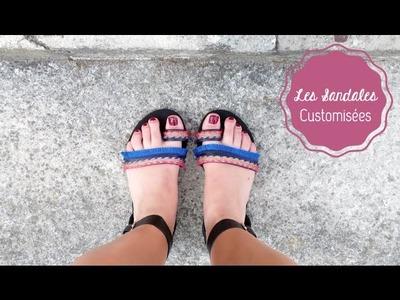 DIY Mode ♡ Les Sandales Customisées